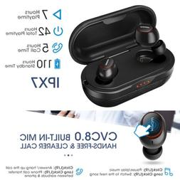 Mpow T5 TWS Earbuds Bluetooth Earphone Headphone IPX7 Waterp