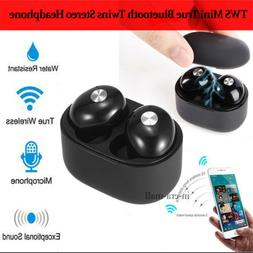 True Wireless Bluetooth Earbuds Dual stereo Noise Cancelling