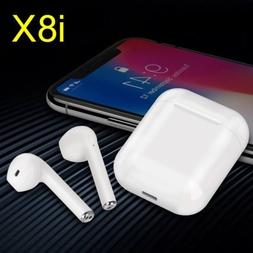 i8x mini Twins Wireless Bluetooth Earbuds Built-in Microphon