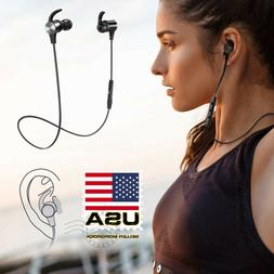 TaoTronics Waterproof Sport Bluetooth Headset Wireless Headp