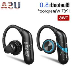 Waterproof Wireless Earbuds Bluetooth 5.0 Headphone Sport Ea
