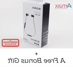 Sony WI-C300 Wireless NFC Bluetooth In-Ear Earbuds Headphone