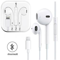 Wired Bluetooth Earbuds Headset Headphone In-ear For Apple i