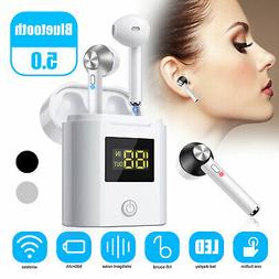 Wireless 5.0 Bluetooth Earphone Earbuds Airpods for Apple iP