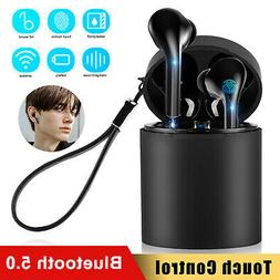 wireless 5 0 bluetooth earphone earbuds airpods