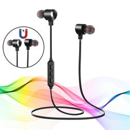Wireless Bluetooth 5.0 Headphone Stereo Bass Sports Earbuds
