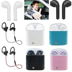 Wireless Bluetooth Earbud Pods/Sports Headset For iPhone 6 7