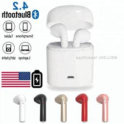 wireless bluetooth earbuds headset in ear headphone