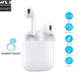 Wireless Bluetooth Earbuds Touch Headphones Earpods For iPho