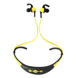 HADI Wireless Bluetooth Earphone Neck Hanging Type Heavy Bas