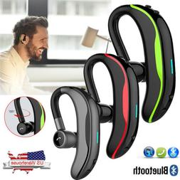 Wireless Bluetooth Earpiece Headset Hands-free On-ear Earpho