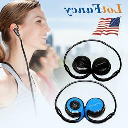 wireless bluetooth headphone earbuds headset stereo in