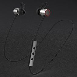 SODIAL New high-end wireless Bluetooth headset Sports neck h