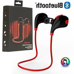 Wireless Bluetooth Headset Sport Stereo Headphone Earphone f