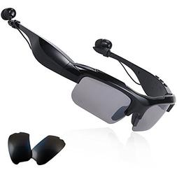 Wireless Bluetooth Sunglasses Stereo Bluetooth Headset Earph