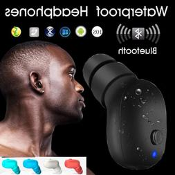 Wireless Bluetooth V4.2 Earbuds Waterproof Earpiece For iPho