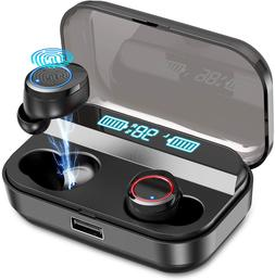 Kissral Wireless Earbuds,Kissral Bluetooth 5.0 Earbuds with