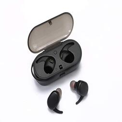 Wireless Earbuds, Bluetooth 5.0 True Wireless Earbuds, Easy-