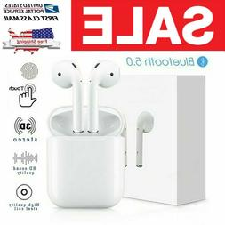 Wireless Earbuds Bluetooth Headphones with Charging Case and