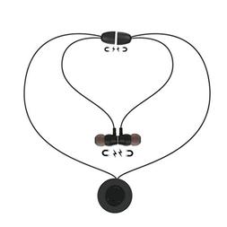 Wireless Sweatproof In-Ear Earphone Magnetic Necklace Pendan